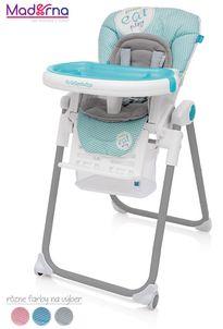 Baby Design jedálenská stolička LOLLY 2017