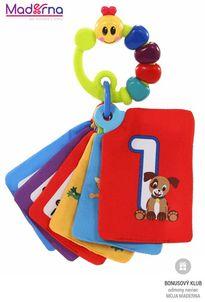 Baby Einstein Karty zábavno-vzdelávacie Take Along Discovery Cards™ čísla 0m+
