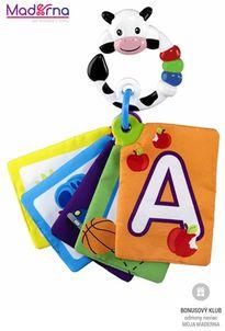 Baby Einstein Karty zábavno-vzdelávacie Take Along Discovery Cards™ písmená 0m+