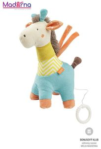 BABY FEHN Funky hracia žirafa