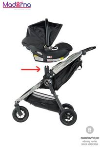 Baby Jogger adaptér BJ90128 na City MINI, Elite, Summit X3