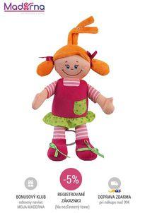 Baby Mix - Bábika s hracím strojčekom Dievčatko