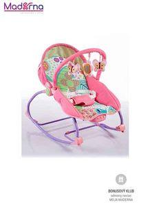 Baby Mix Detské ležadlo 2v1 pink