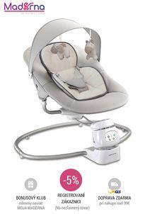 Baby MIX Detské otočné ležadlo 2v1 - beige