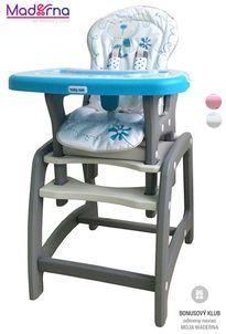 Baby Mix Jedálenská stolička 2v1