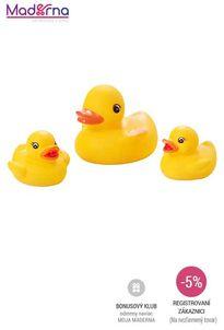 Baby Ono - Hračky do kúpeľa kačka 3 ks