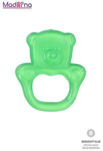 Baby ono Hryzačka chladiaca medveď- zelená