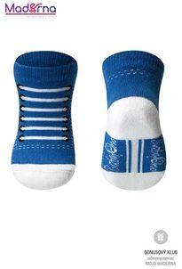 Baby ono Ponožky bavlnené 0+ modrá