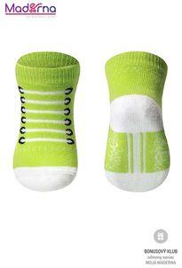 Baby ono Ponožky bavlnené 0+ zelená