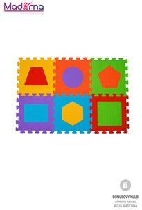 Baby ono Puzzle penové písmená 6ks, 6m+