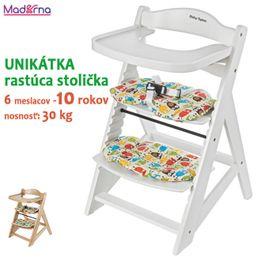 Baby Sky drevená rastúca stolička MOBY SYSTEM WOODY