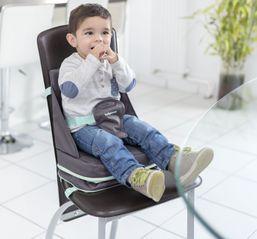 BABYMOOV Prenosná jedálenská stolička Up&Go Smokey