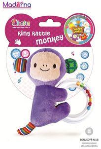 Bambam hrkálka opička