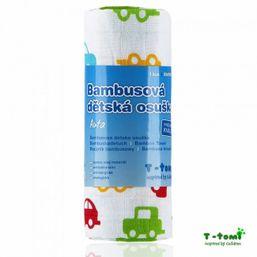 Bambusová osuška s potlačou T-tomi