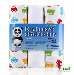 Bambusové plienky 3ks T-tomi
