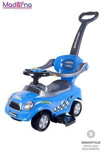 Bayo Detské hrajúce jazdítko 3v1 blue