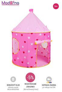 Bayo - Detský stan ružový