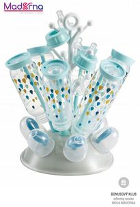 Beaba odkvapkávač kojeneckých fliaš sivá-modrá