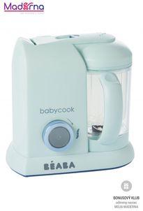 Beaba Parný varič + mixér BABYCOOK Aquamarine Blue