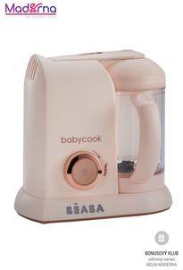 Beaba Parný varič + mixér BABYCOOK Pink