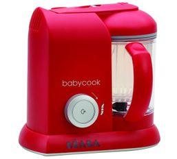 BEABA - Parné varič + mixér BABYCOOK SOLO červený