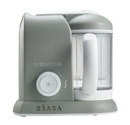 Beaba Parný varič + mixér BABYCOOK SOLO šedý