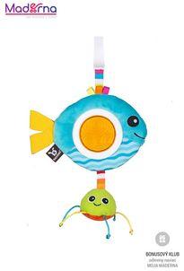 Benbat Hračka závesná Dazzle Travel Rattle rybka