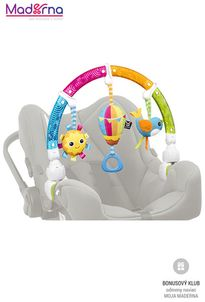 Benbat Hrazdička na autosedačku Dazzle Rainbow Play-Arch dúha