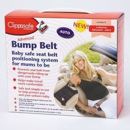 Bezpečnostný pás do auta pre tehotné Clippasafe