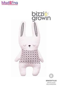 Bizzy Growin Mäkký vankúšik králiček