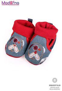 Bobo Baby Detské capačky červeno-modré