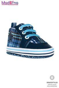 Bobo Baby Detské topánočky modré s hviezdičou
