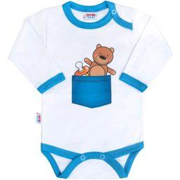 Body s potlačou New Baby medvedík vo vrecku - Podľa obrázku