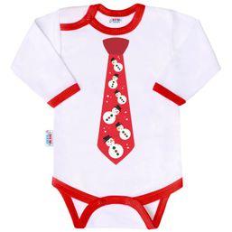 Body s potlačou New Baby s kravatou - Podľa obrázku