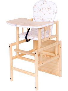 Borovicová stolička Drewex Antonín - Prírodná
