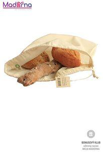 BoWeevil Vrecko na chlieb z biobavlny veľkosť L