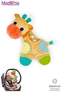 bright starts Hračka - hryzačka Sunggle & Teethe 0m+ Žirafa