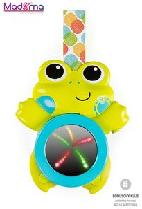Bright Starts Hračka hudobná závesná so svetlami žaba 0m+