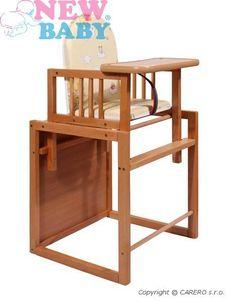 Buková stolička New Baby Victory - - Prírodná