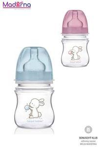 Canpol babies antikoliková fľaša so širokým hrdlom EasyStart Little Cutie 120 ml