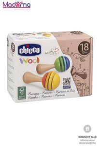 chicco Drevená hračka rumba gule
