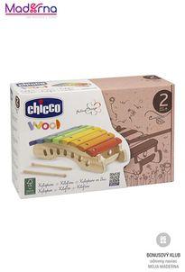 chicco Drevená hračka xylofón