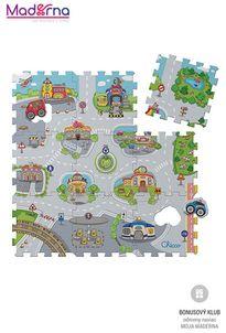 Chicco Penové puzzle Mesto 30x30cm 9ks