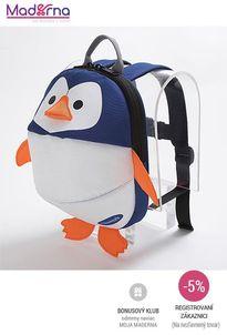 CLIPPASAFE - batoh s odnímatelným vodítkom - Penguin