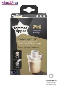 Tommee Tippee Dávkovač C2N na sušené mlieko 6ks x