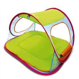 dBb Remond Cestovné hracia podložka so strechou a UV ochranou