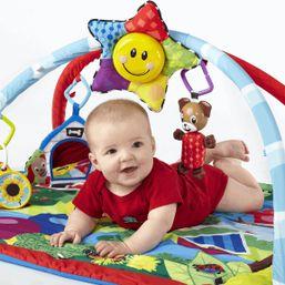 Baby einstein Deka na hranie s hrazdičkou Caterpillar & Friends 0+
