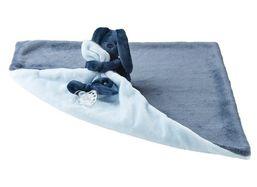 Deka plyšová s maznáčikom LAPIDOU light blue 48cm x 48cm