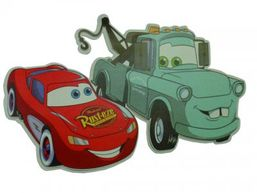 Dekorácia 2V McQueen & Mater (veľká)