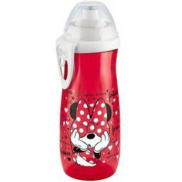 Detská fľaša NUK Sports Cup Disney Mickey 450 ml červená - Červená